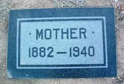 UNKNOWN, MOTHER - Yavapai County, Arizona   MOTHER UNKNOWN - Arizona Gravestone Photos