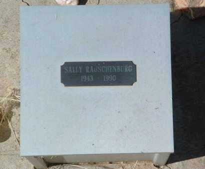 RAUSCHENBERG, SALLY - Yavapai County, Arizona   SALLY RAUSCHENBERG - Arizona Gravestone Photos