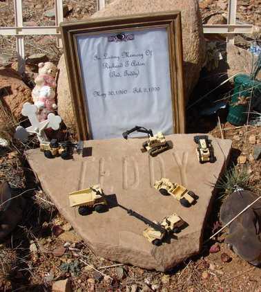 "PATON, RICHARD J. ""TEDDY"" - Yavapai County, Arizona | RICHARD J. ""TEDDY"" PATON - Arizona Gravestone Photos"