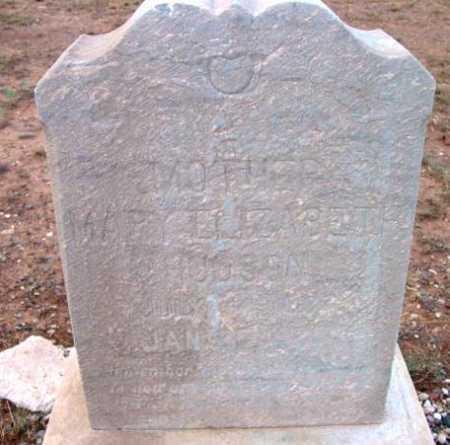HUDSON, MARY ELIZABETH - Yavapai County, Arizona | MARY ELIZABETH HUDSON - Arizona Gravestone Photos