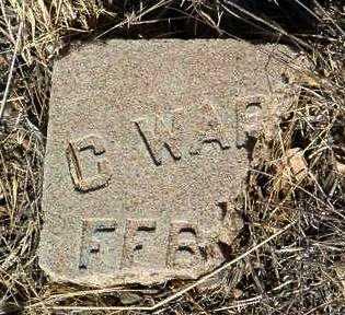 WARFIELD, C. (CHARLES) - Yavapai County, Arizona | C. (CHARLES) WARFIELD - Arizona Gravestone Photos