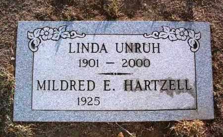 HARTZELL, MILDRED E. - Yavapai County, Arizona | MILDRED E. HARTZELL - Arizona Gravestone Photos