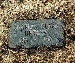 UPSHAW, CHARLES BLAKE - Yavapai County, Arizona | CHARLES BLAKE UPSHAW - Arizona Gravestone Photos