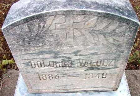 VALDEZ, DOLORES - Yavapai County, Arizona | DOLORES VALDEZ - Arizona Gravestone Photos