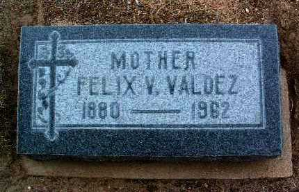 VALDEZ, FELIX V. (MRS.) - Yavapai County, Arizona | FELIX V. (MRS.) VALDEZ - Arizona Gravestone Photos