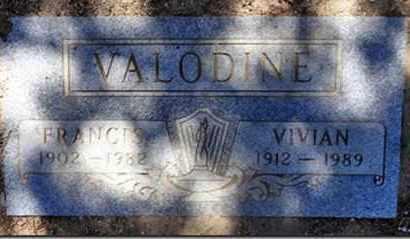HIRSCH VALODINE, VIVIAN - Yavapai County, Arizona | VIVIAN HIRSCH VALODINE - Arizona Gravestone Photos
