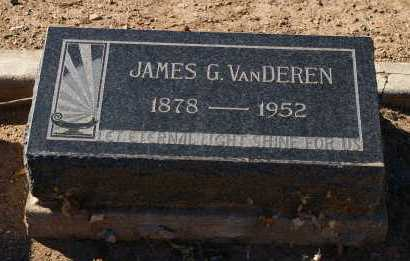 VAN DEREN, JAMES GODFREY - Yavapai County, Arizona | JAMES GODFREY VAN DEREN - Arizona Gravestone Photos