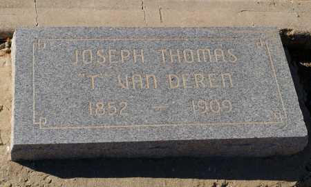 VAN DEREN, JOSEPH T. - Yavapai County, Arizona   JOSEPH T. VAN DEREN - Arizona Gravestone Photos