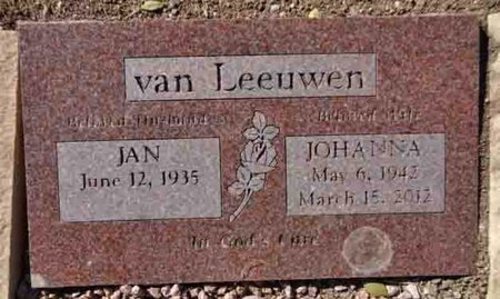 VAN LEEUWEN, JAN - Yavapai County, Arizona   JAN VAN LEEUWEN - Arizona Gravestone Photos