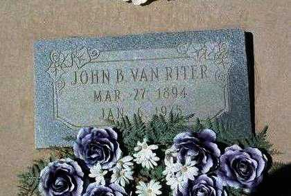 VANRITER, JOHN B. - Yavapai County, Arizona   JOHN B. VANRITER - Arizona Gravestone Photos