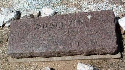 VAN WORMER, LEROY D. - Yavapai County, Arizona | LEROY D. VAN WORMER - Arizona Gravestone Photos