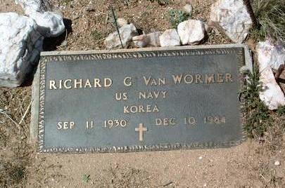VAN WORMER, RICHARD - Yavapai County, Arizona | RICHARD VAN WORMER - Arizona Gravestone Photos