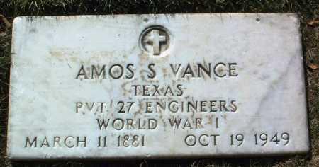 VANCE, AMOS S. - Yavapai County, Arizona | AMOS S. VANCE - Arizona Gravestone Photos