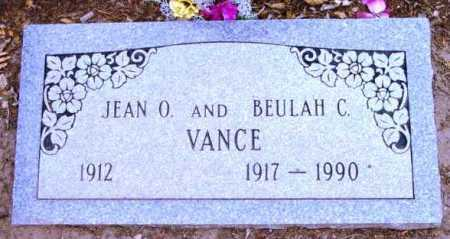 VANCE, JEAN O. - Yavapai County, Arizona   JEAN O. VANCE - Arizona Gravestone Photos