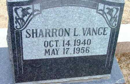 VANCE, SHARRON L. - Yavapai County, Arizona   SHARRON L. VANCE - Arizona Gravestone Photos