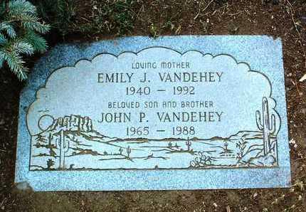 VANDEHEY, JOHN PHILLIP - Yavapai County, Arizona | JOHN PHILLIP VANDEHEY - Arizona Gravestone Photos