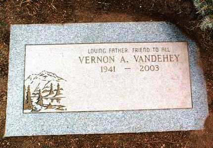 VANDEHEY, VERNON ARTHUR - Yavapai County, Arizona | VERNON ARTHUR VANDEHEY - Arizona Gravestone Photos