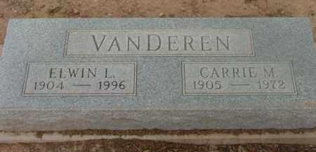 VAN DEREN, CARRIE MAY - Yavapai County, Arizona | CARRIE MAY VAN DEREN - Arizona Gravestone Photos