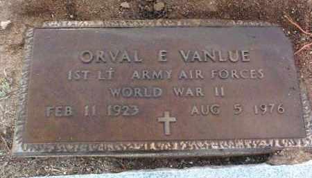 VANLUE, ORVAL E. - Yavapai County, Arizona | ORVAL E. VANLUE - Arizona Gravestone Photos