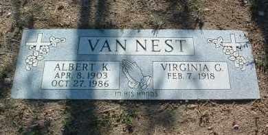 VANNEST, VIRGINIA G. - Yavapai County, Arizona   VIRGINIA G. VANNEST - Arizona Gravestone Photos