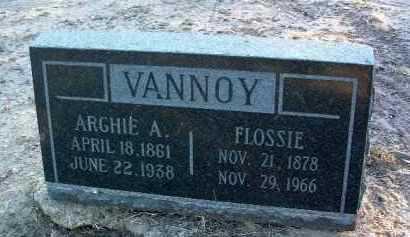 VANNOY, ARCHIE AANDERSON HENRY - Yavapai County, Arizona | ARCHIE AANDERSON HENRY VANNOY - Arizona Gravestone Photos
