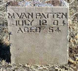 VAN PATTEN, MARY - Yavapai County, Arizona   MARY VAN PATTEN - Arizona Gravestone Photos