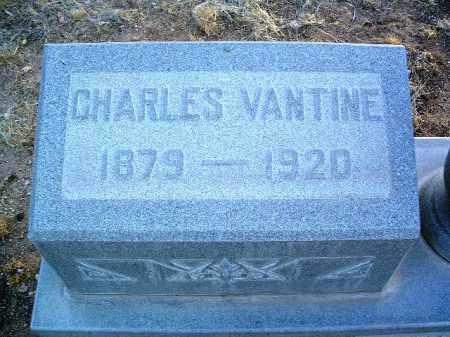 VANTINE, CHARLES A. - Yavapai County, Arizona | CHARLES A. VANTINE - Arizona Gravestone Photos