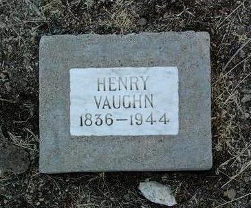 VAUGHN, HENRY - Yavapai County, Arizona | HENRY VAUGHN - Arizona Gravestone Photos