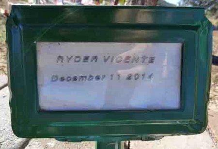 VICENTE, RYDER - Yavapai County, Arizona | RYDER VICENTE - Arizona Gravestone Photos