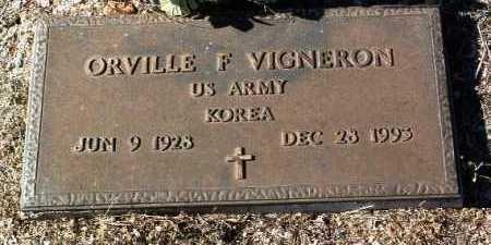 VIGERON, ORVILLE F. - Yavapai County, Arizona   ORVILLE F. VIGERON - Arizona Gravestone Photos