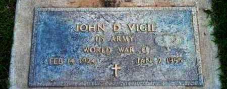 VIGIL, JOHN D. - Yavapai County, Arizona | JOHN D. VIGIL - Arizona Gravestone Photos
