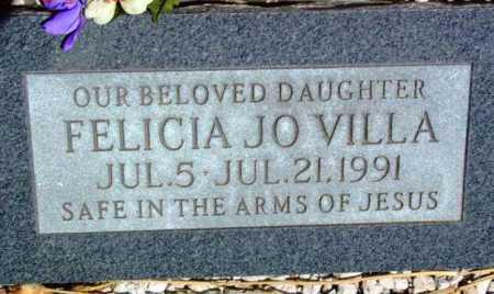 VILLA, FELICIA JO - Yavapai County, Arizona   FELICIA JO VILLA - Arizona Gravestone Photos