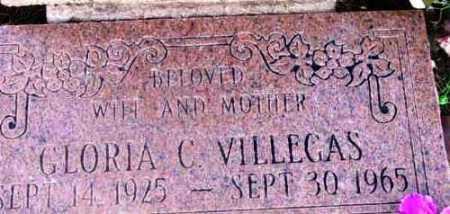 VILLEGAS, GLORIA C. - Yavapai County, Arizona   GLORIA C. VILLEGAS - Arizona Gravestone Photos