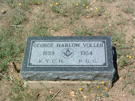 VOLLER, GEORGE HARLOW - Yavapai County, Arizona | GEORGE HARLOW VOLLER - Arizona Gravestone Photos