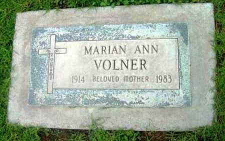 VOLNER, MARIAN ANN - Yavapai County, Arizona | MARIAN ANN VOLNER - Arizona Gravestone Photos