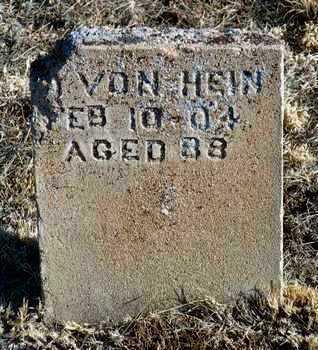 VON HEIN, DETRICH - Yavapai County, Arizona   DETRICH VON HEIN - Arizona Gravestone Photos