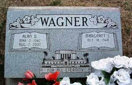WAGNER, ALAN D. - Yavapai County, Arizona | ALAN D. WAGNER - Arizona Gravestone Photos