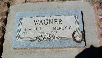 WAGNER, MERCY C. - Yavapai County, Arizona | MERCY C. WAGNER - Arizona Gravestone Photos