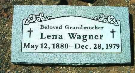 WAGNER, LENA - Yavapai County, Arizona | LENA WAGNER - Arizona Gravestone Photos