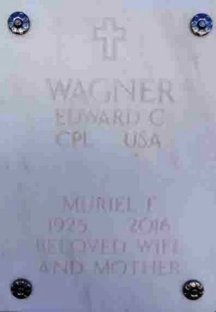 WAGNER, MURIEL FRANCES - Yavapai County, Arizona | MURIEL FRANCES WAGNER - Arizona Gravestone Photos
