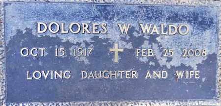 HOHMAN WALDO, DELORES W. - Yavapai County, Arizona   DELORES W. HOHMAN WALDO - Arizona Gravestone Photos