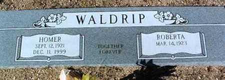 WALDRIP, HOMER CARL - Yavapai County, Arizona | HOMER CARL WALDRIP - Arizona Gravestone Photos