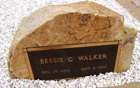WALKER, BESSIE C. - Yavapai County, Arizona | BESSIE C. WALKER - Arizona Gravestone Photos