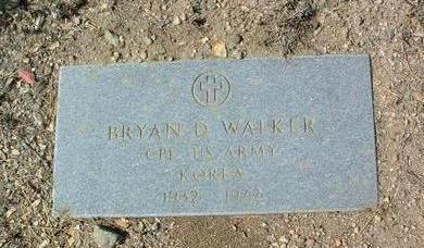 WALKER, BRYAN D. - Yavapai County, Arizona | BRYAN D. WALKER - Arizona Gravestone Photos