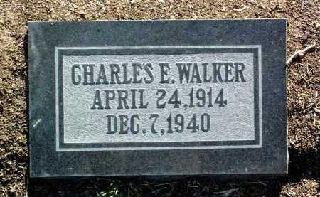 WALKER, CHARLES E. - Yavapai County, Arizona | CHARLES E. WALKER - Arizona Gravestone Photos