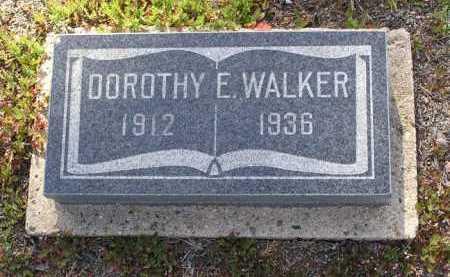 WALKER, DOROTHY E. - Yavapai County, Arizona | DOROTHY E. WALKER - Arizona Gravestone Photos