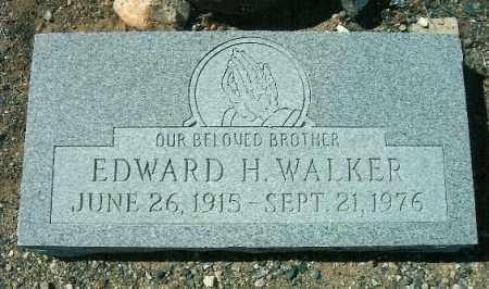 WALKER, EDWARD H - Yavapai County, Arizona   EDWARD H WALKER - Arizona Gravestone Photos