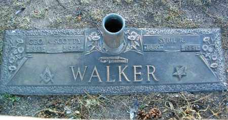 WALKER, GEORGE H. - Yavapai County, Arizona   GEORGE H. WALKER - Arizona Gravestone Photos