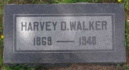 WALKER, HARVEY D. - Yavapai County, Arizona   HARVEY D. WALKER - Arizona Gravestone Photos
