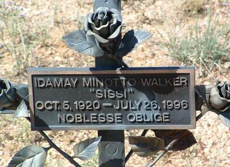 WALKER, IDA  MAY - Yavapai County, Arizona | IDA  MAY WALKER - Arizona Gravestone Photos